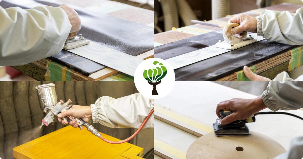家具・木工塗装事業のイメージ
